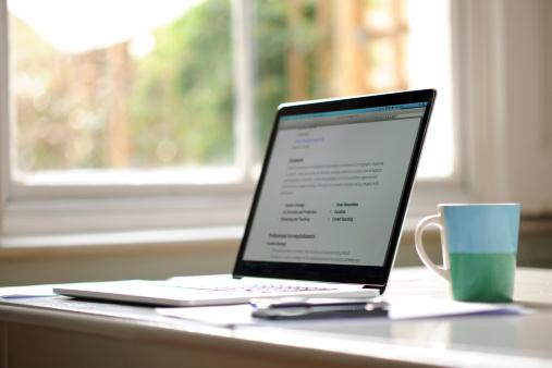 ウェブサイト パソコン